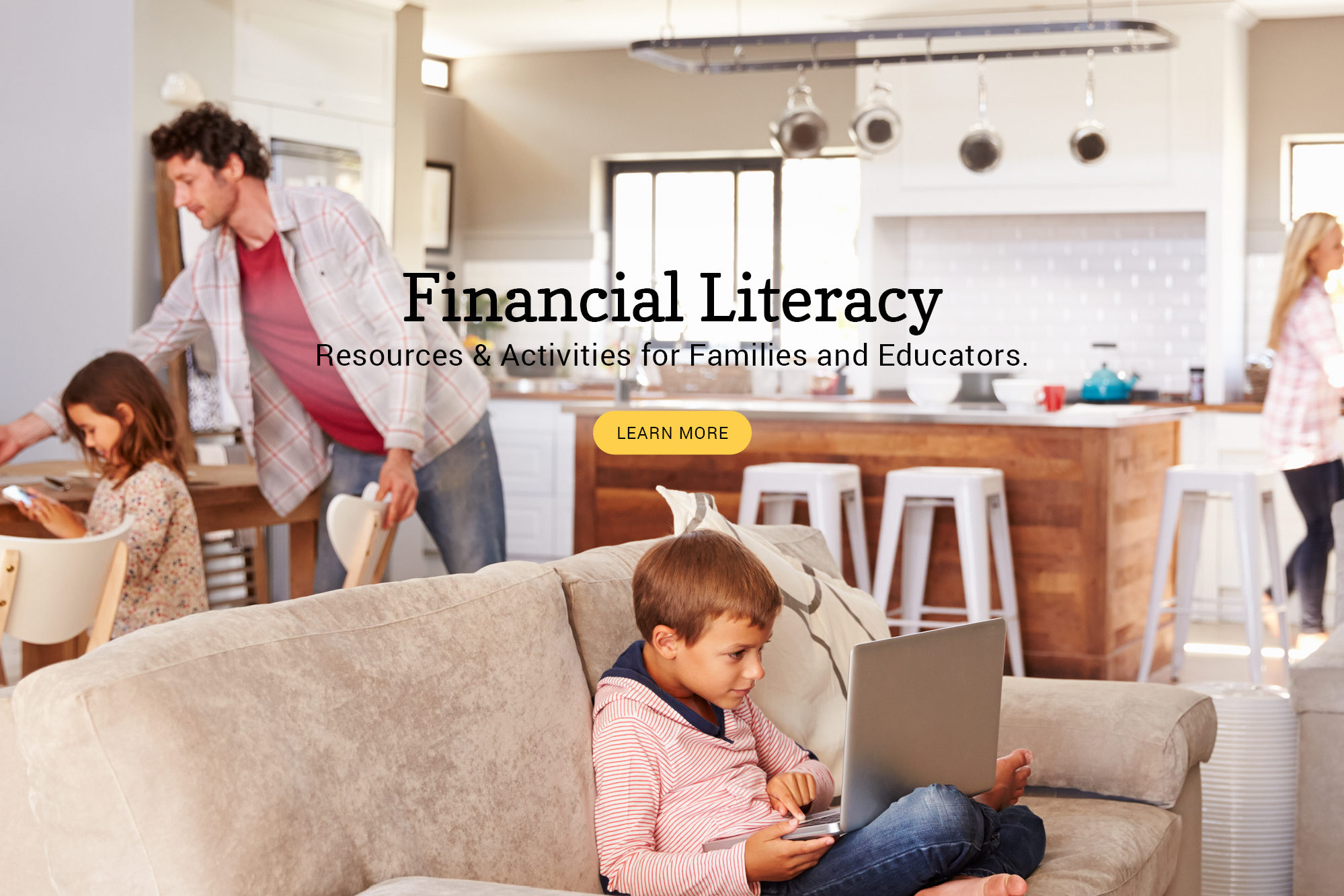 Financial Literacy Resources for families & educators