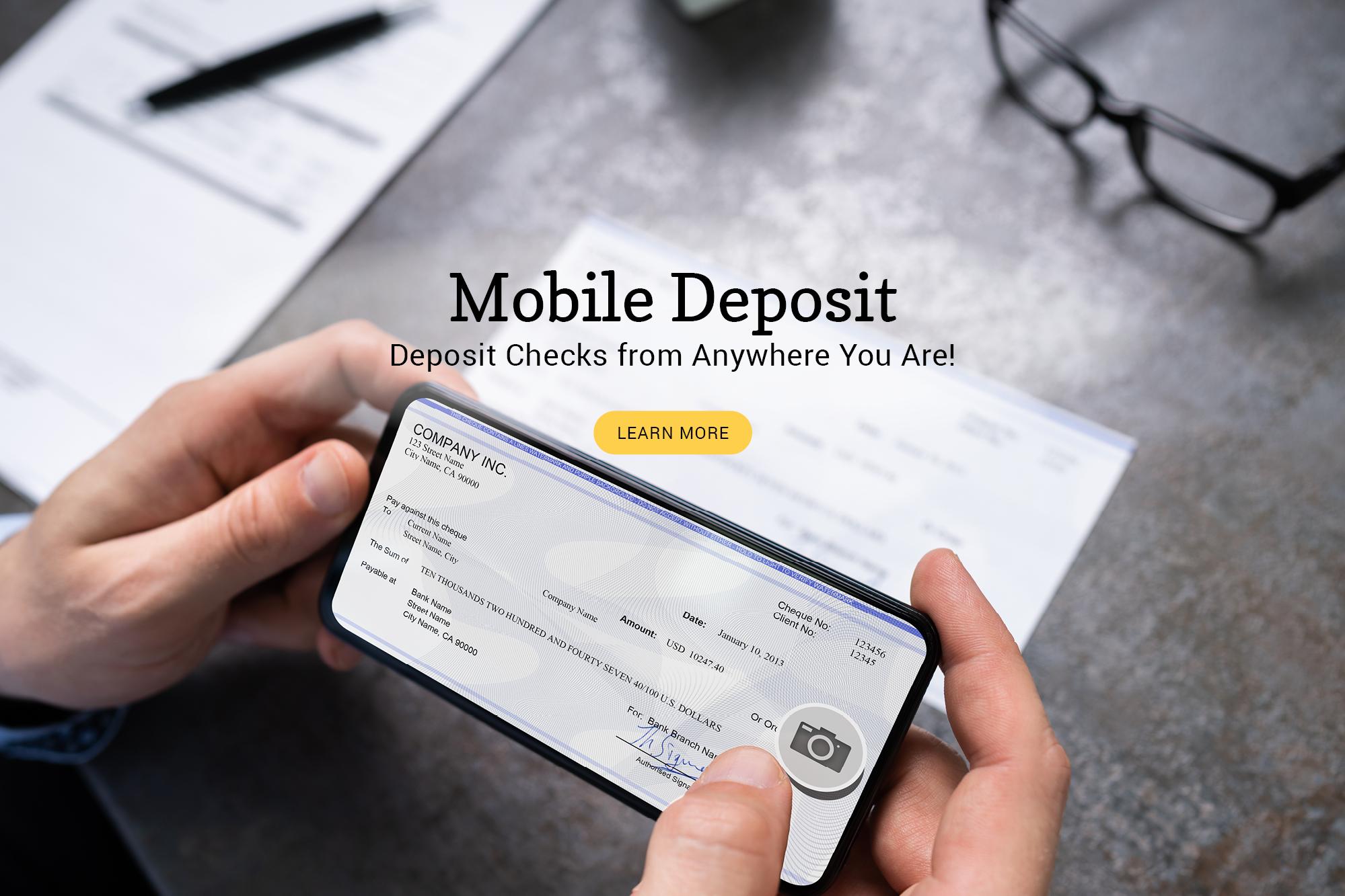 Mobile Deposits